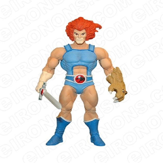 THUNDERCATS LION-O FRONT VIEW COMIC T-SHIRT IRON-ON TRANSFER DECAL #CTC6