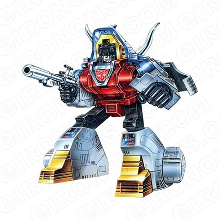 TRANSFORMERS DINOBOT SLAG READY AUTOBOTS TV T-SHIRT IRON-ON TRANSFER DECAL #TVTS28