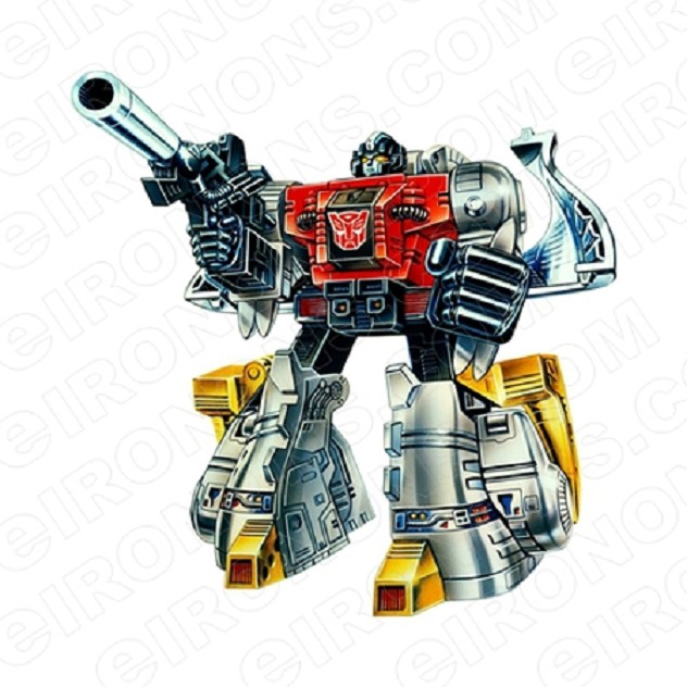 TRANSFORMERS DINOBOT SLUDGE READY AUTOBOTS TV T-SHIRT IRON-ON TRANSFER DECAL #TVTS18