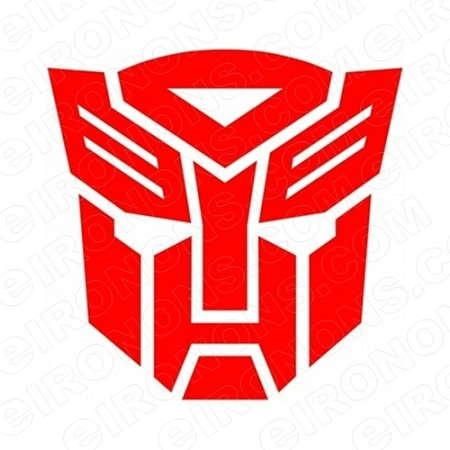 TRANSFORMERS LOGO AUTOBOTS TV T-SHIRT IRON-ON TRANSFER DECAL #TVTS37