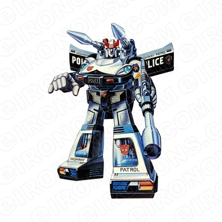 TRANSFORMERS PROWL AUTOBOTS TV T-SHIRT IRON-ON TRANSFER DECAL #TVTS6