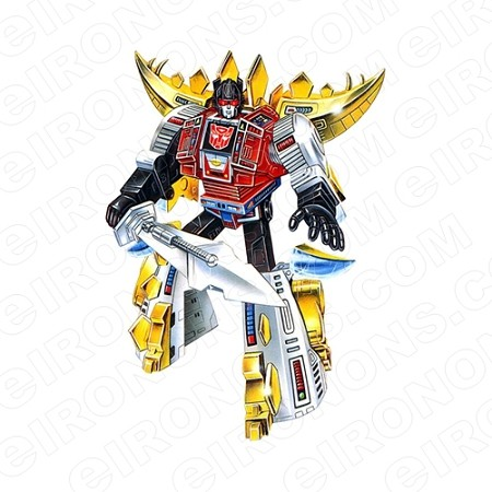 TRANSFORMERS DINOBOT SNARL READY AUTOBOTS TV T-SHIRT IRON-ON TRANSFER DECAL #TVTS17