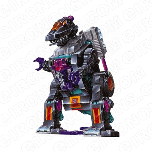 TRANSFORMERS TRYPTICON READY DECEPTICON TV T-SHIRT IRON-ON TRANSFER DECAL #TVTS23