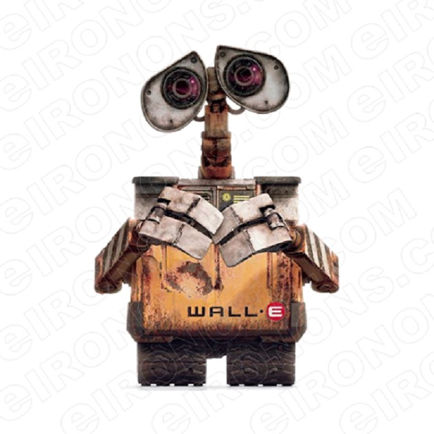 WALL-E FRONT VIEW MOVIE TV T-SHIRT IRON-ON TRANSFER DECAL #WE3