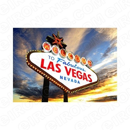 WELCOME TO FABULOUS LAS VEGAS NEVADA T-SHIRT IRON-ON TRANSFER DECAL #LVS8