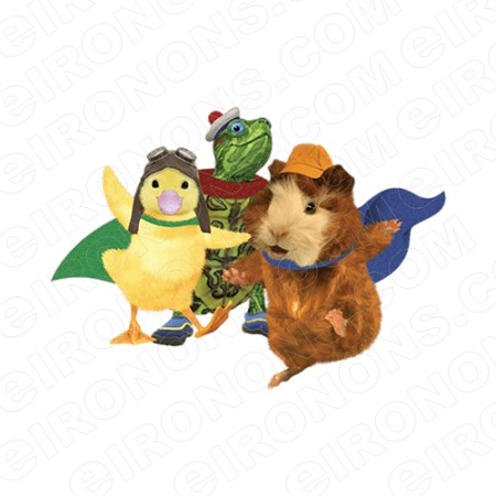 WONDER PETS DANCING CHARACTER T-SHIRT IRON-ON TRANSFER DECAL #CWP1