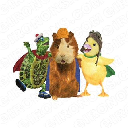 WONDER PETS GROUP POSE CHARACTER T-SHIRT IRON-ON TRANSFER DECAL #CWP2
