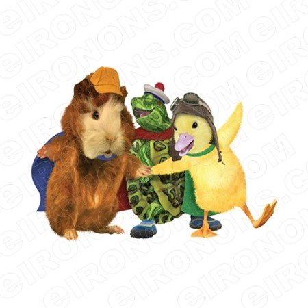 WONDER PETS GROUP POSE CHARACTER T-SHIRT IRON-ON TRANSFER DECAL #CWP3