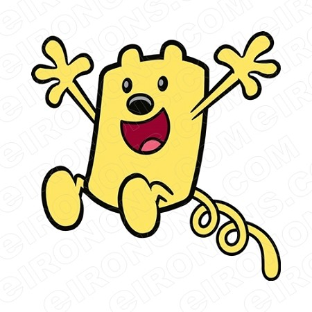 WOW WUBBZY HOPPING CHARACTER T-SHIRT IRON-ON TRANSFER DECAL #CWW6
