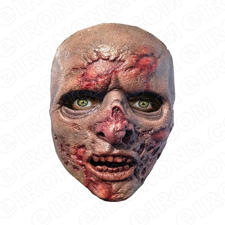 ZOMBIE ROTTING BIG HEAD HALLOWEEN T-SHIRT IRON-ON TRANSFER DECAL #HZBH7
